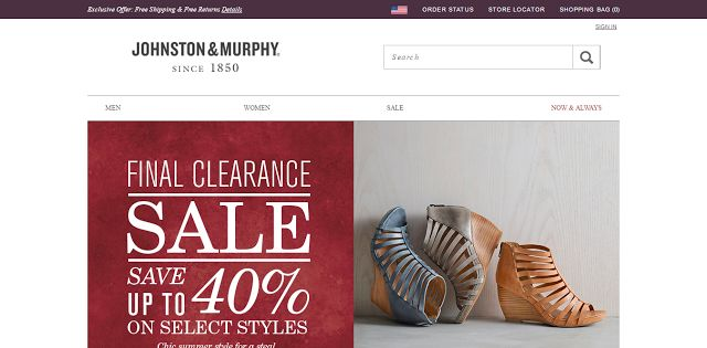 The world's only place gives 50% sales revenue back to society: Johnston   Murphy   Premium selection of Men s sho...