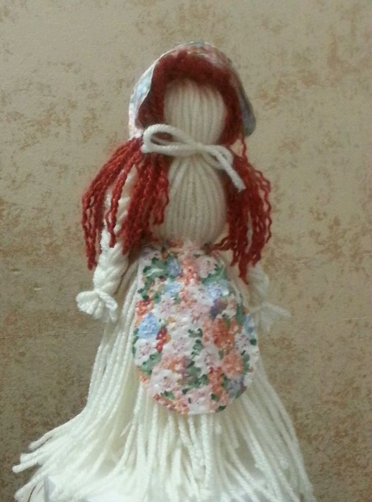 Maw-Maw and Me old-fashioned, historic toy YARN DOLL KIT country craft-MOLLY  #MawMawandMeCrafts