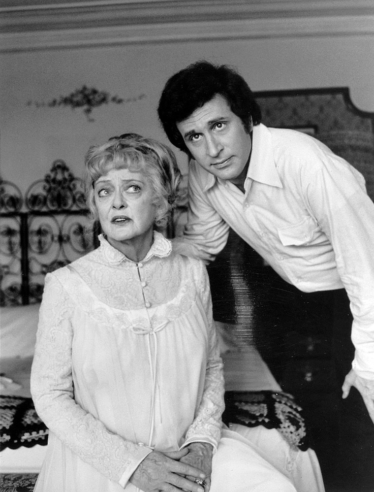 Bette Davis & Ted Bessell in Scream, Pretty Peggy (1973 ABC Movie of the Week originally aired on Sat., Nov. 24)