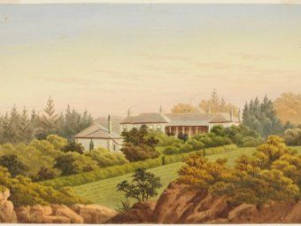 Annandale House, Annandale, NSW. Australia. The Johnston Estate - http://www.abc.net.au/radionational/programs/earshot/podcasts/esther-abrahams---convict-27first-lady27/6031166