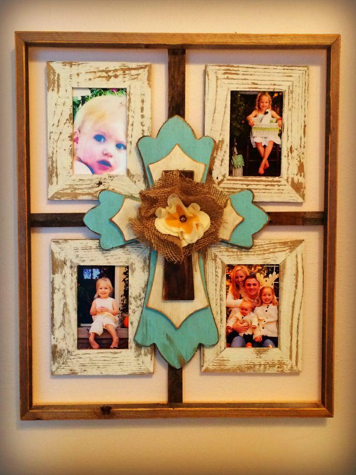 custom barnwood frames 4 pane cross frame 7500 http
