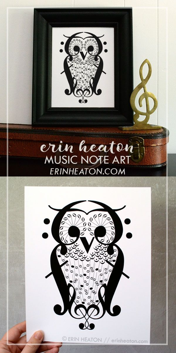 48381325403 Owl Music Art Print