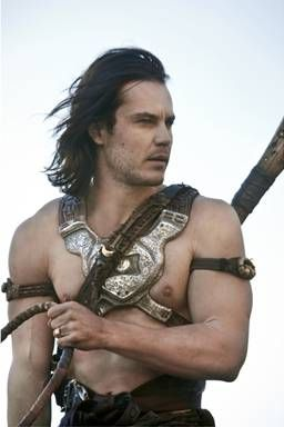One of my fave movies: Taylor Kitsch as Barsoom's John Carter