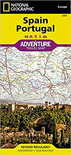 Best PDF Spain Portugal adv. ng r/v (r) wp (Adventure) - Online - By National Geographic Maps