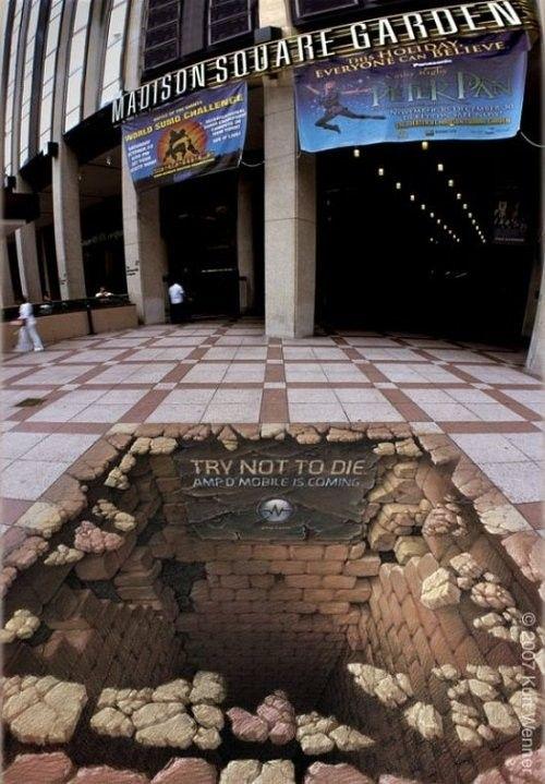 3D street art gallery