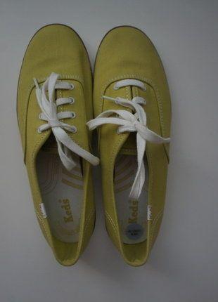zielono-limonkowe trampki Ked's 39,5