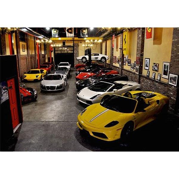 Cars Collector Garages: 94 Best Dream Garages Images On Pinterest