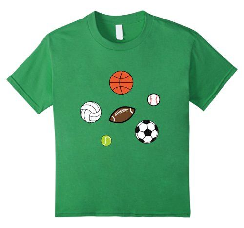 Sports Fan Sport Balls FootbalL Basketball Baseball T-Shirt by Scar Design. Perfect Gift for All Sport Fans . #sport #sports #tshirt #sportstshirts #baseball #mom #kidssport #dad #basketball #football #tennis #soccer #volleyball #tshirtfashion #kids #tshirtdesign #sportsmom #sportsdad #sporttshirt #art #style #fashion #gifts #giftsforhim #giftsforher #amazon #design #popular #onlineshopping #39;s #blue #family #amazontshirt #kidstshirts #cool #cooltshirts #scardesign