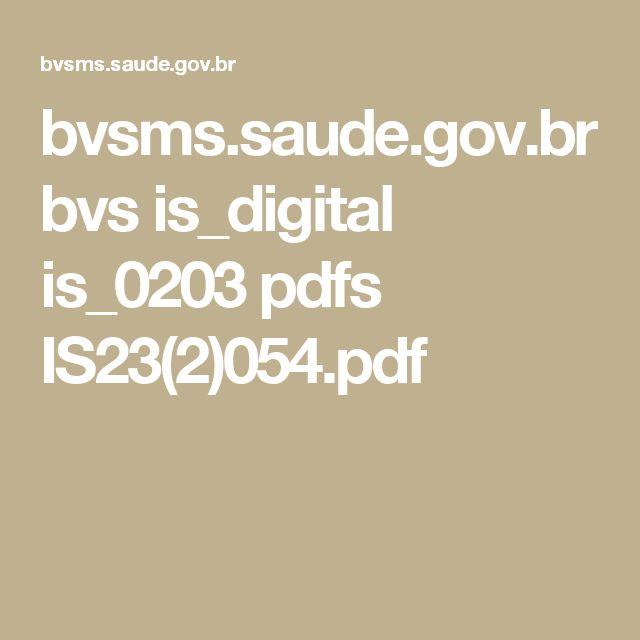 bvsms.saude.gov.br bvs is_digital is_0203 pdfs IS23(2)054.pdf
