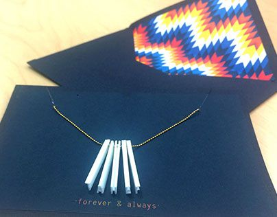 """Check out new work on my @Behance portfolio: """"Necklace/Envelope """" http://be.net/gallery/34287435/NecklaceEnvelope-"""
