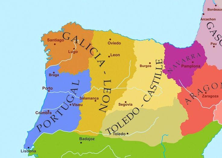 Best Iberian Peninsula Map Ideas On Pinterest Iberian - Portugal map history