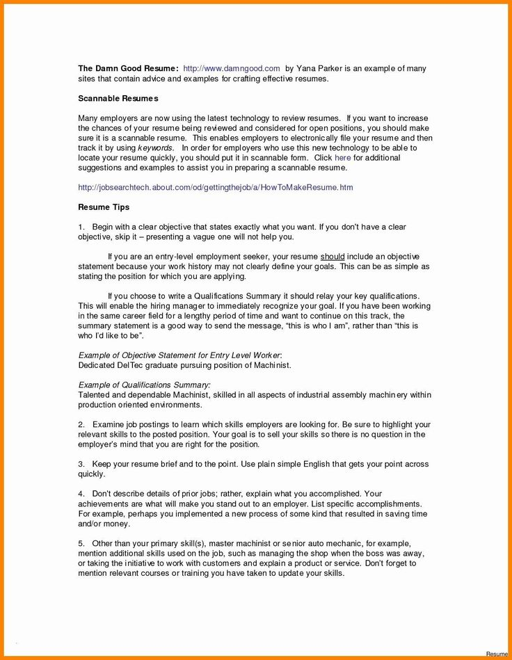 Pin by Waldwert Site on Resume Formats Resume summary