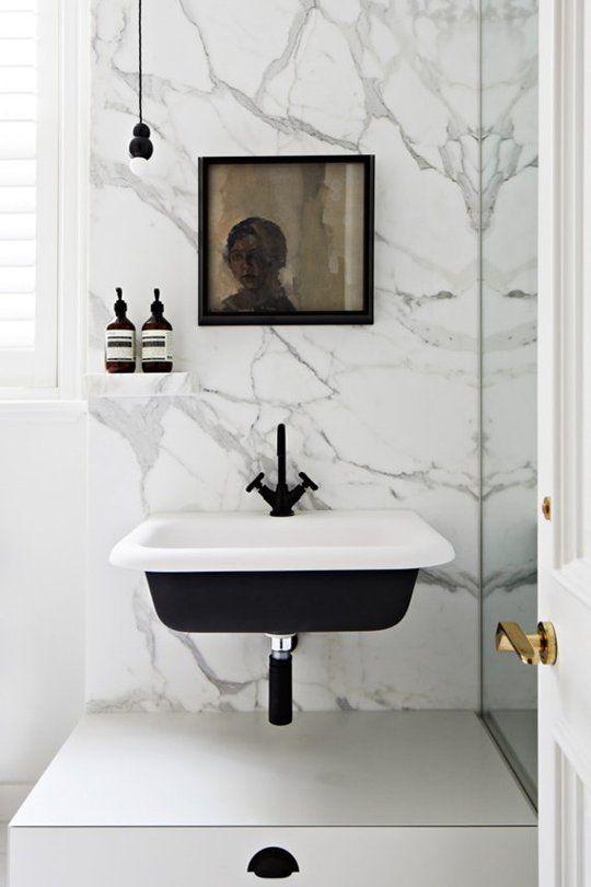 Fresh Black Bathroom Fixtures Decorating Ideas