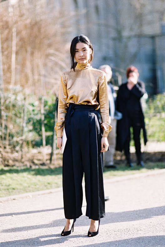 Парижская Неделя моды AW 2 015 .... Камиля   Ванесса Джекман   Bloglovin '