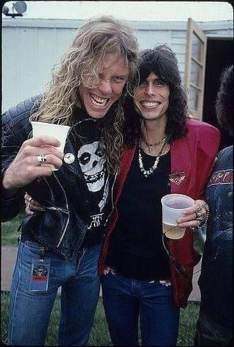 James Hetfield X Steven Tyler