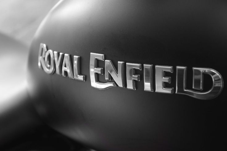 Bike, bullet, royal enfield, monochrome, logo wallpaper