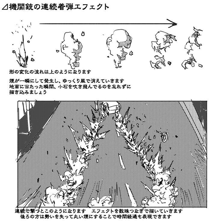 理屈に基づいた爆発の描き方まとめ [18]