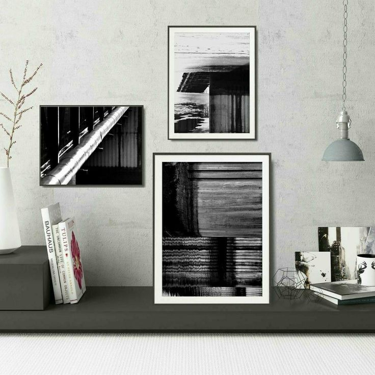 Looking for industrial decor ideas? Try modern black and white photo decor set, inspired by architecture. Available as instant download! Visit Black and White Prints section.