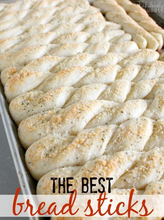 """I've been making this breadstick recipe from my family cookbook for quite some time. My cousin calls them """"The You Couldn't Get Any Tastier Breadsticks."""" Ha. These breadsticks are delicious and easy!"""
