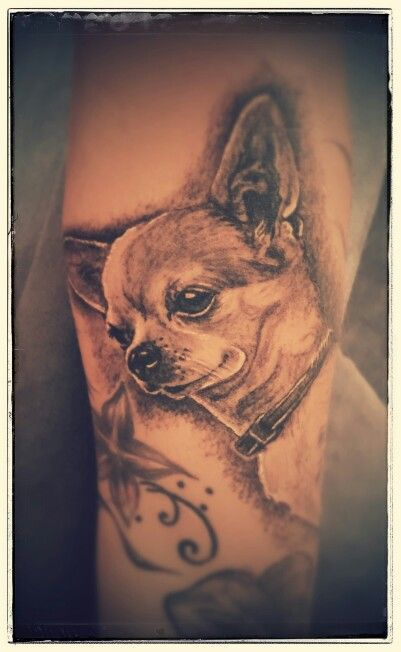 Tattoo dog