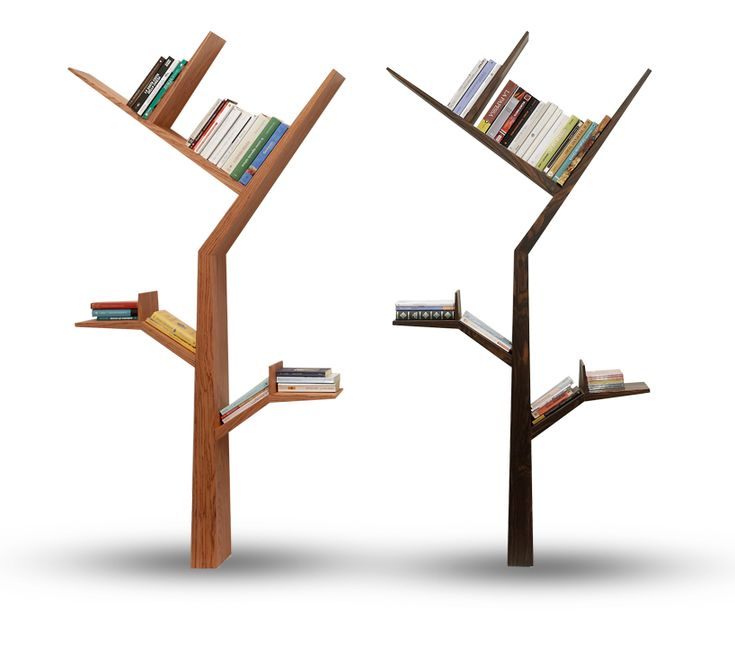 'booktree' in tineo and ebony finishees by kostas syrtariotis. i want these!