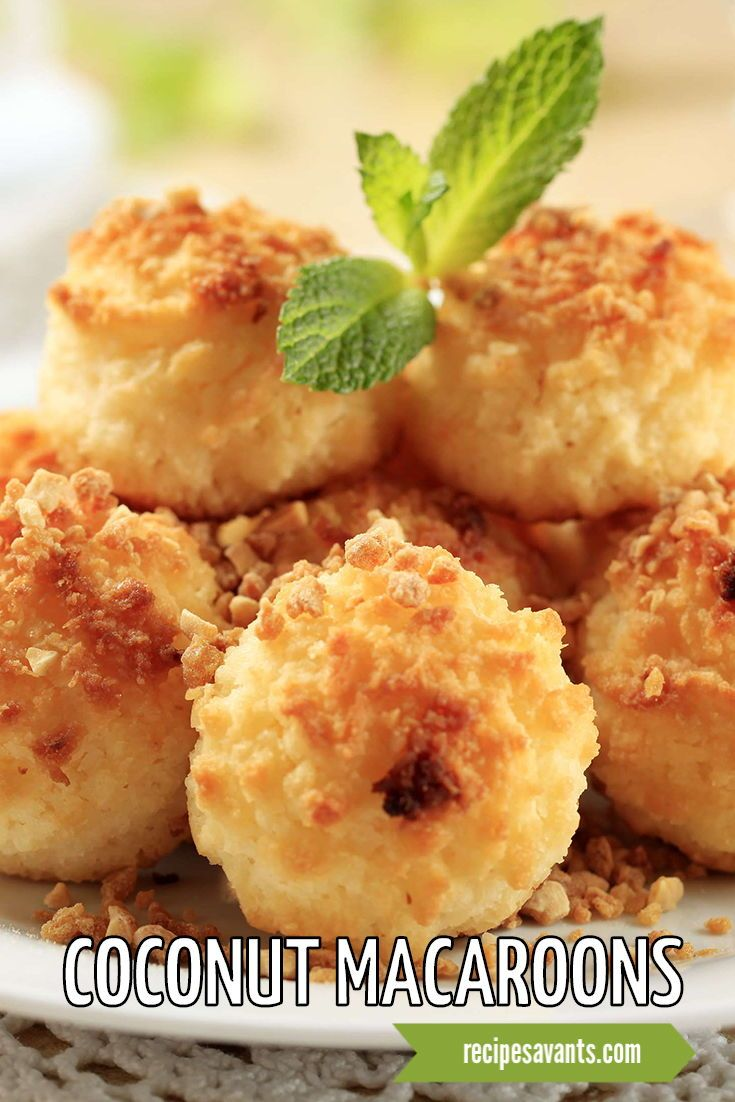 I Conquered This Recipe Coconut Macaroons Recipe Coconut Macaroons Coconut Macaroon Cookies Macaroon Recipes
