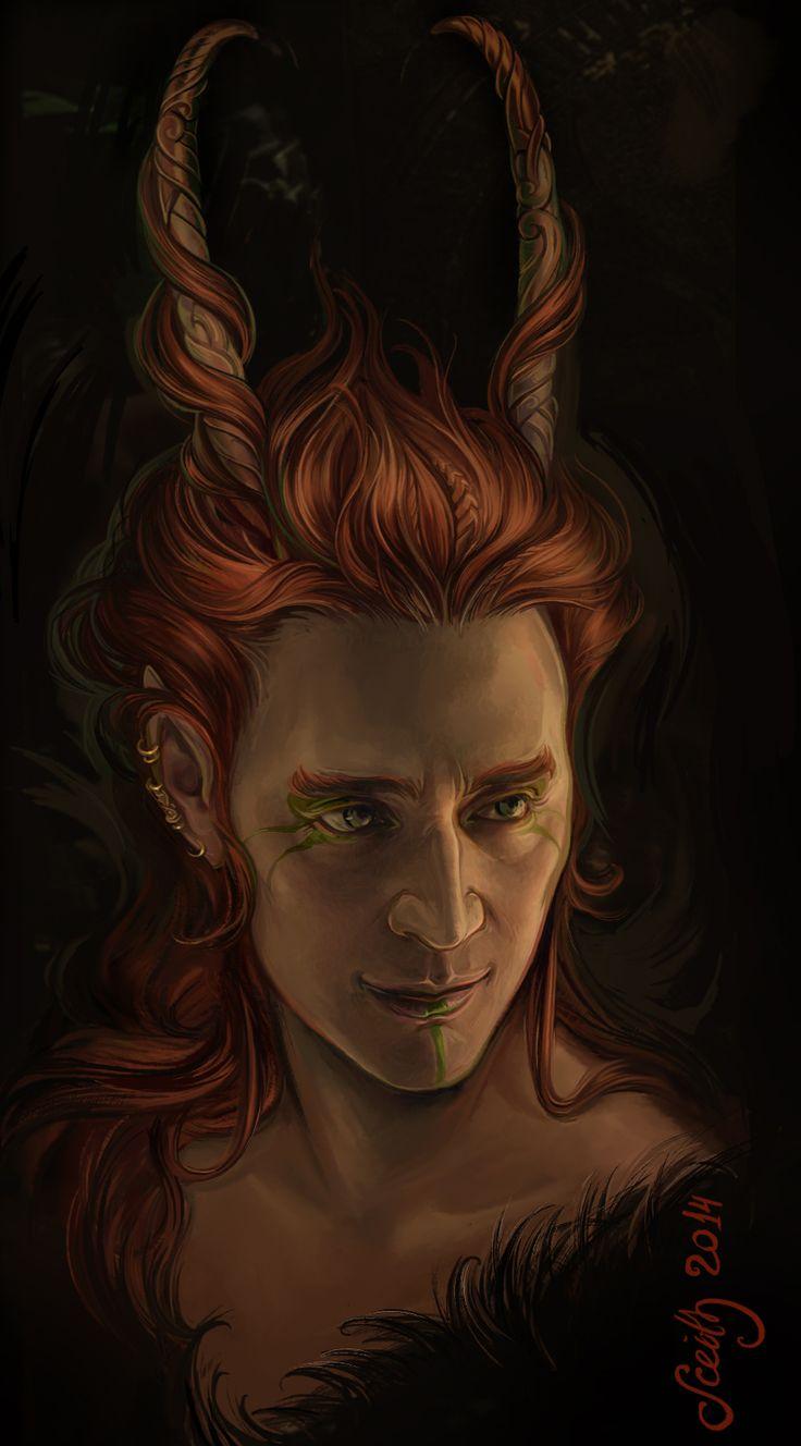 Loki sketch_2 by SceithAilm on deviantART