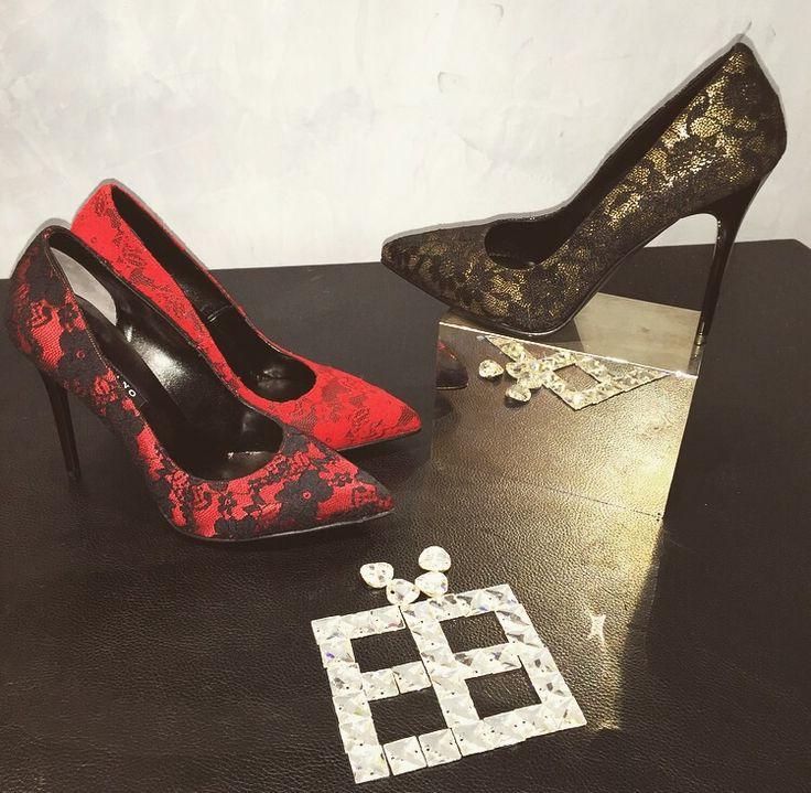 Décolleté Albano realizzato in diversi colori in pizzo! Choose your style!!