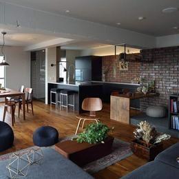 上質なブルックリンスタイルの部屋 LDK