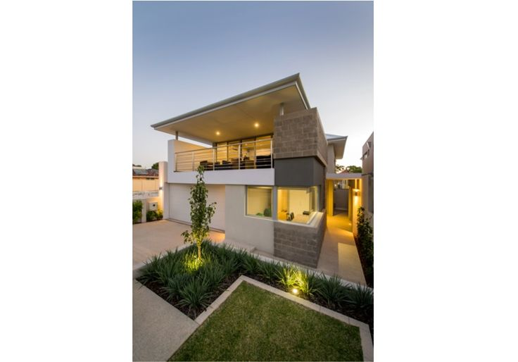Two storey custom home front elevation in Dianella