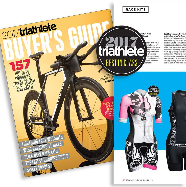 Thanks Triathlete Magazine for the Best In Class nod. We dig it!