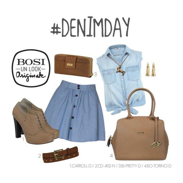 """""""Un look Originale para celebrar el Denim Day"""" by bosi-accesorios on Polyvore"""