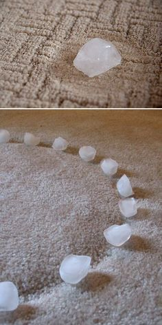 DIY Home Hacks • Try these clever home hack ideas, like this ice cube idea from…