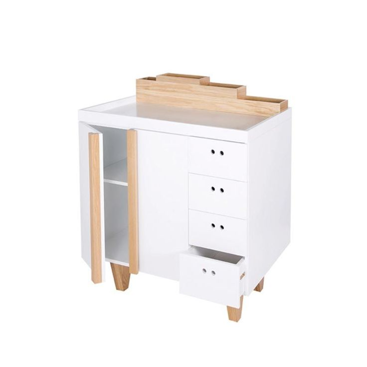 Commode langer design ninetonine en vente ici http for Commode table a langer bebe