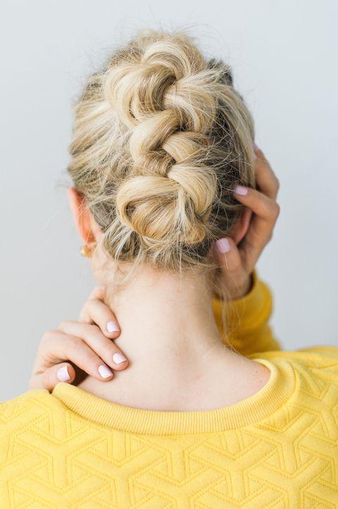 Braid tutorial: the braided faux hawk