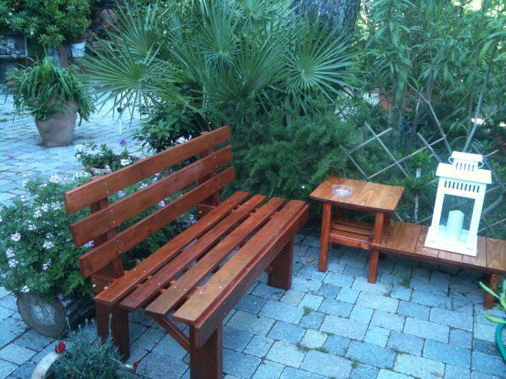 Le 25 migliori idee su giardino riciclato su pinterest - Tavolo legno riciclato ...