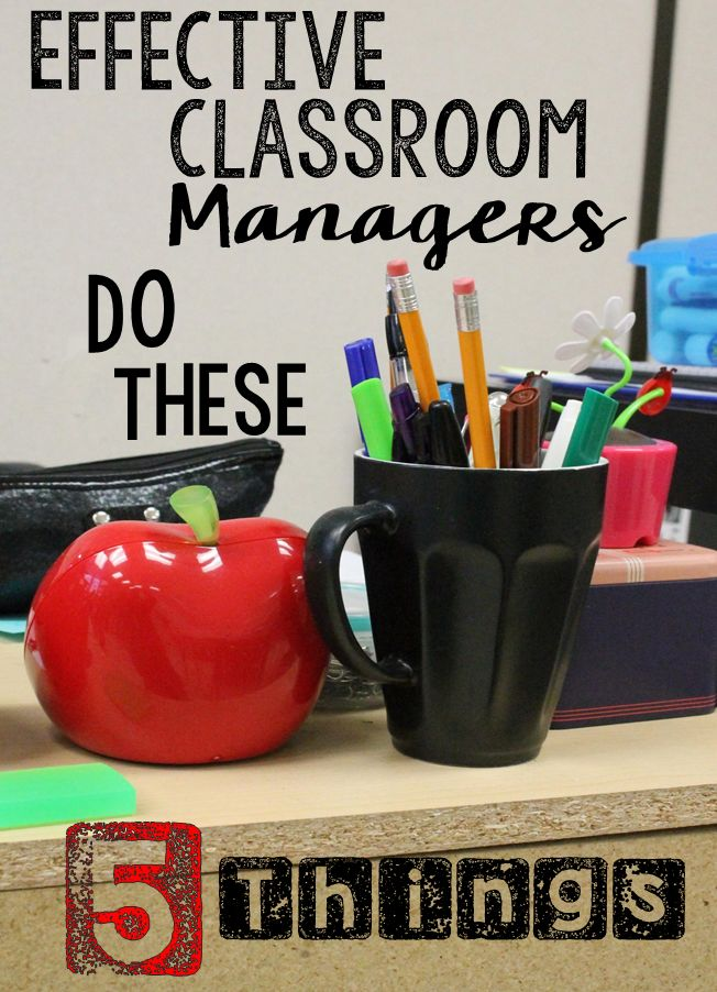 Minds in Bloom: Effective Classroom Managers Do These 5 Things