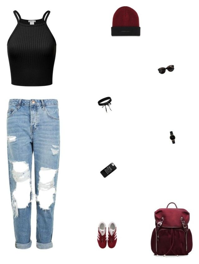 """""""🤧🤧🤧"""" by celmad on Polyvore featuring Topshop, adidas, M Z Wallace, Dr. Martens, Max&Co., Boohoo and Freedom To Exist"""