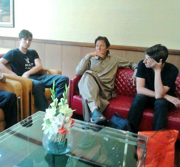imran khan politician sons