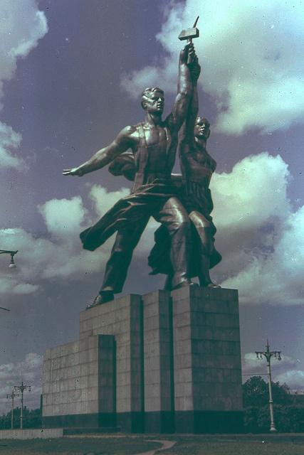 Also logotype of soviet film company