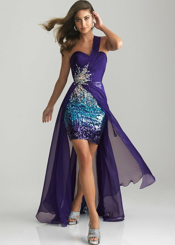 purple dresses on Wanelo