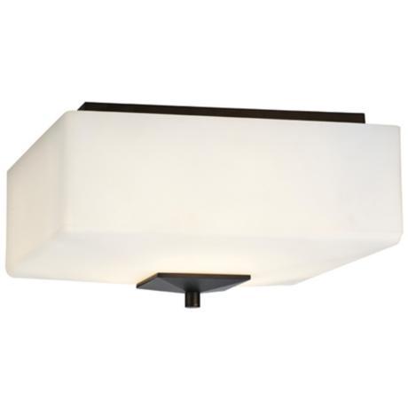 "Forecast Radius Collection 13"" Deep Bronze Ceiling Light"