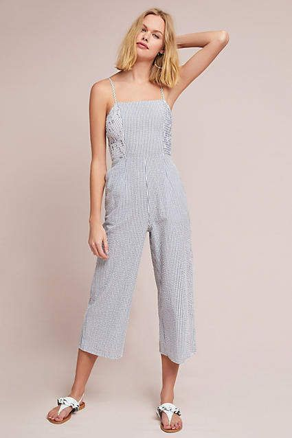 98fa01a4470 Anthropologie - The Fifth Label Yamba Striped Jumpsuit