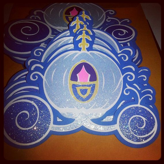 Cinderella Invitations by CrystalCCreations on Etsy, $50.00