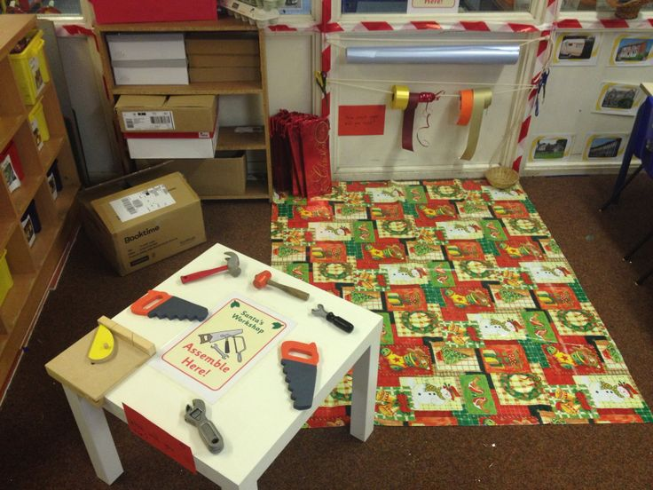 Christmas Wrapping Station