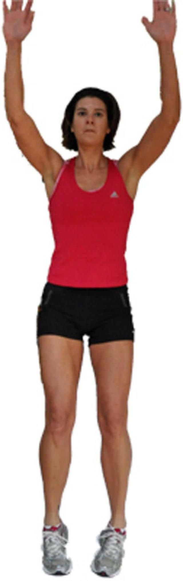 19 Effective Cardio Exercises You Can Do at Home: Squat Jumps