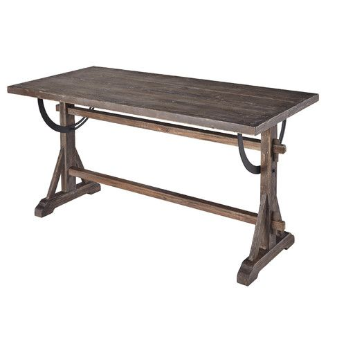 Cute table for banquette seating. Found it at Wayfair - Maxwell Dining Table