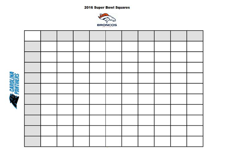 Here's a free printable template for the 2016 Super Bowl Betting ...