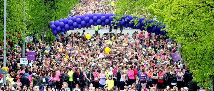 Bupa Women's 10k Run Glasgow Fantastic run with amazing support from the crowds along the way!