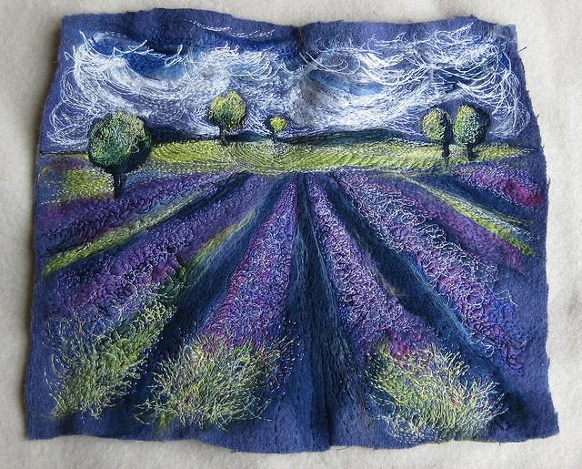 lavender field: Michala Gyetvai